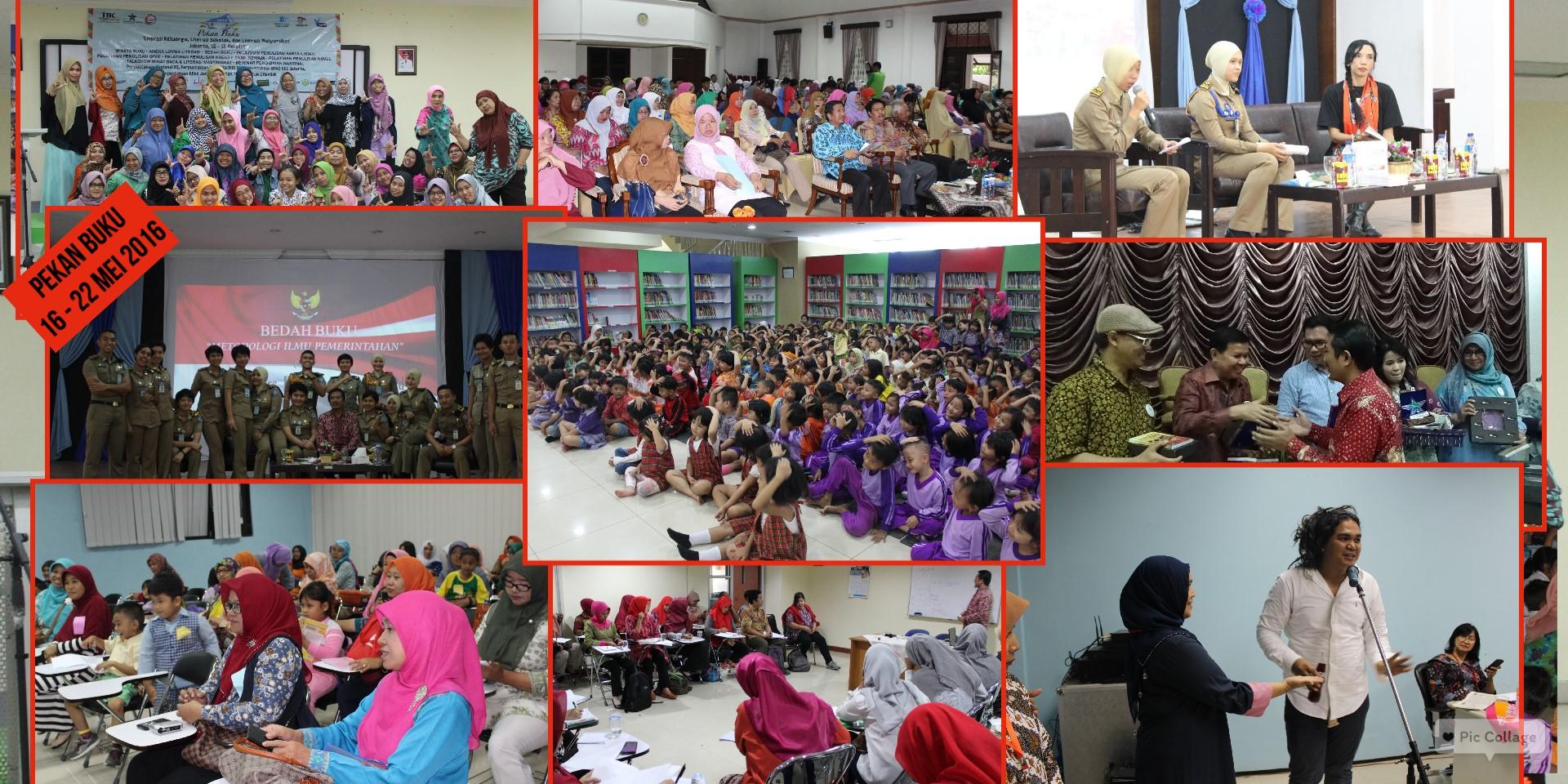 Pekan Buku 2016, Dalam Rangka Hari Buku Dan Hari Pendidikan Nasional