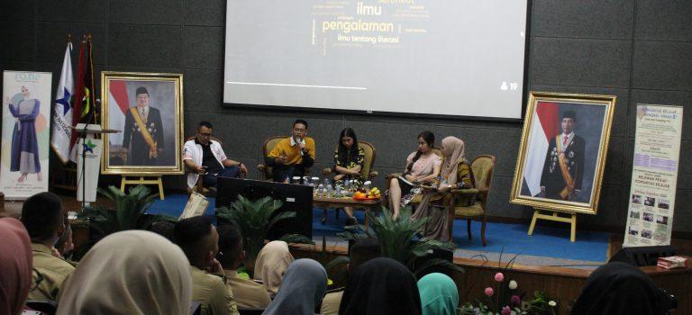 Talkshow Literasi Milenial – Pekan Literasi 2019